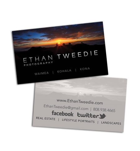 Hawaii print design business cards brochures rack cards and want reheart Images